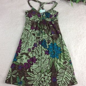 Maurices Floral Spaghetti Strap Dress Size Small..